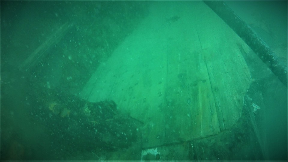 NAS Protected Wreck Day gives members a close encounter with