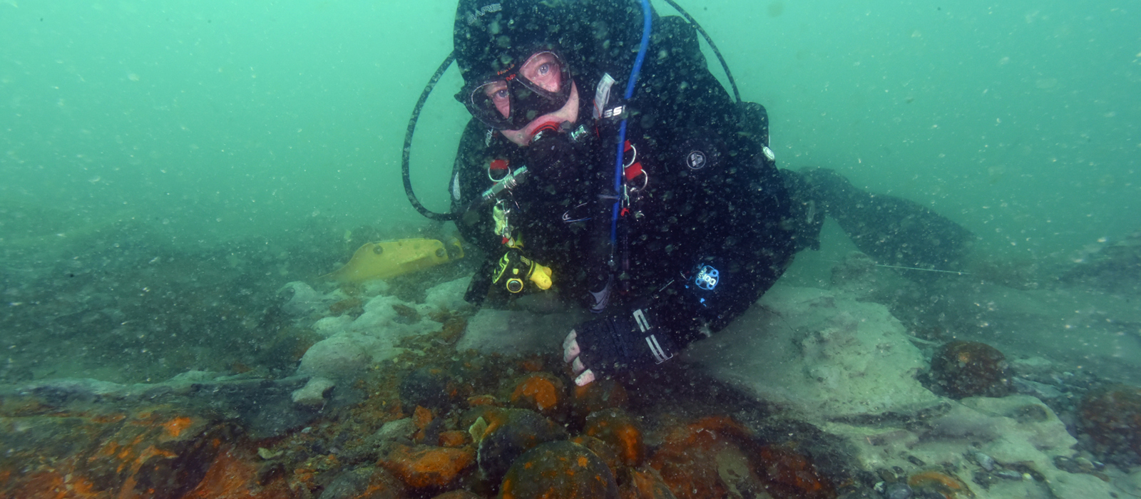 NAS Protected Wreck Day gives members a close encounter with two UK protected wrecks