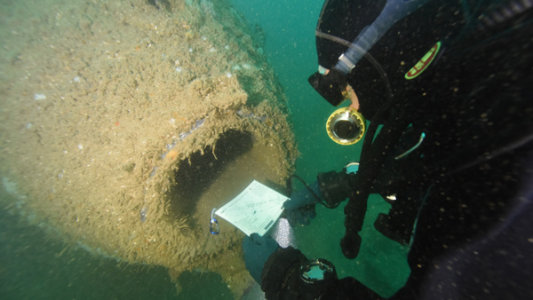 UK: Holland No.5 and Normans' Bay Protected Wrecks Day